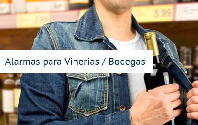 alarmas para vinos