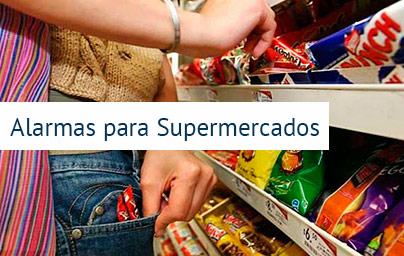 alarmas para supermercados